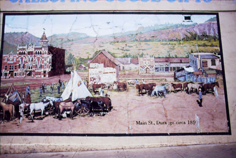 Mural of Main Street Durango Photo
